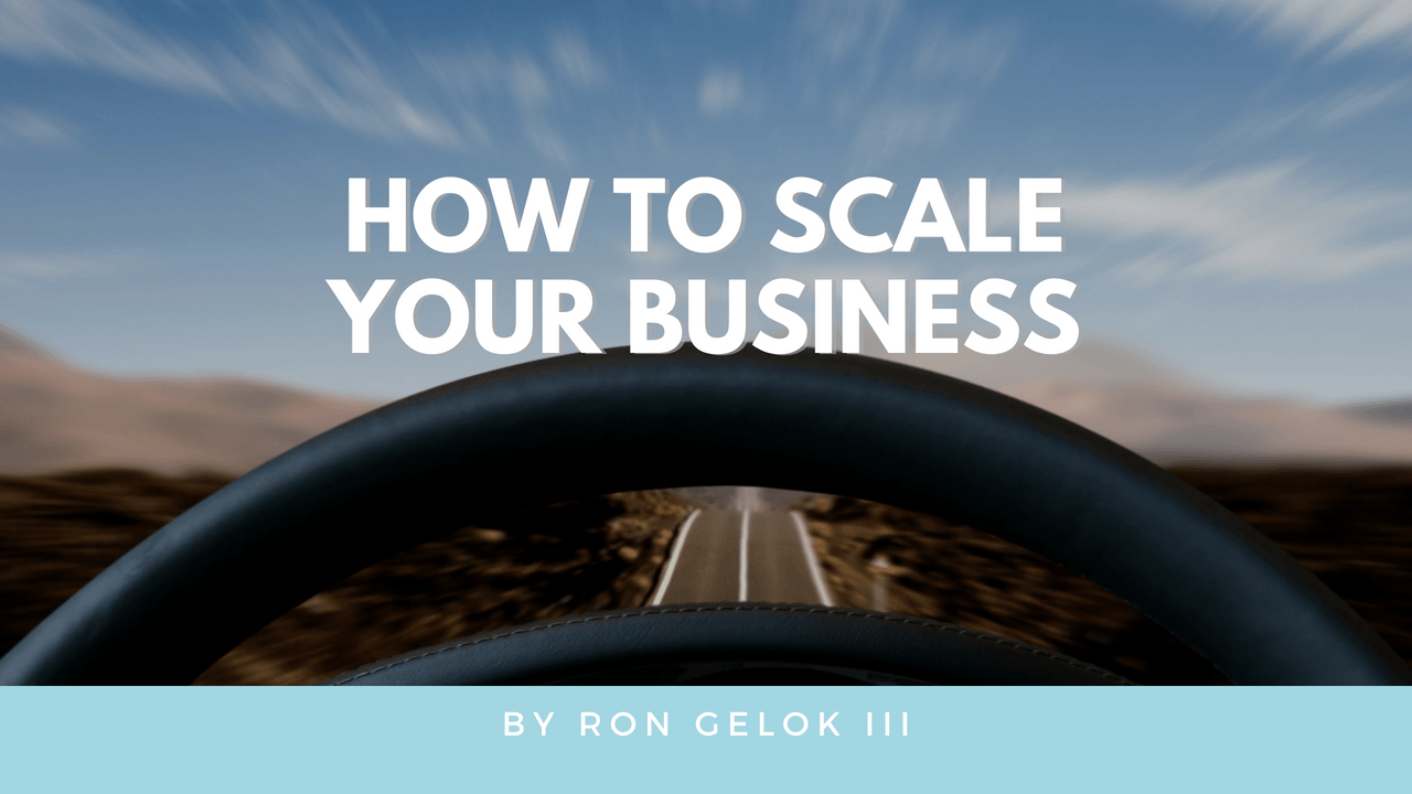 """how to scale your business"""