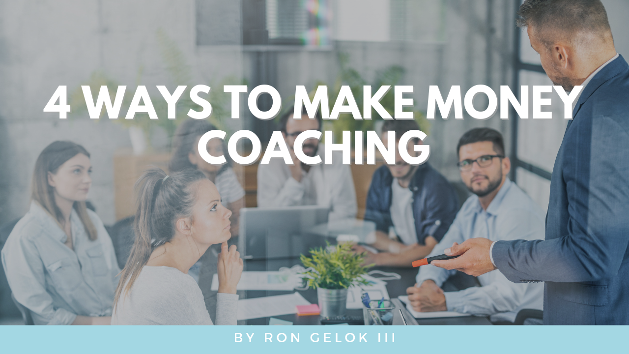"""make money coaching"""