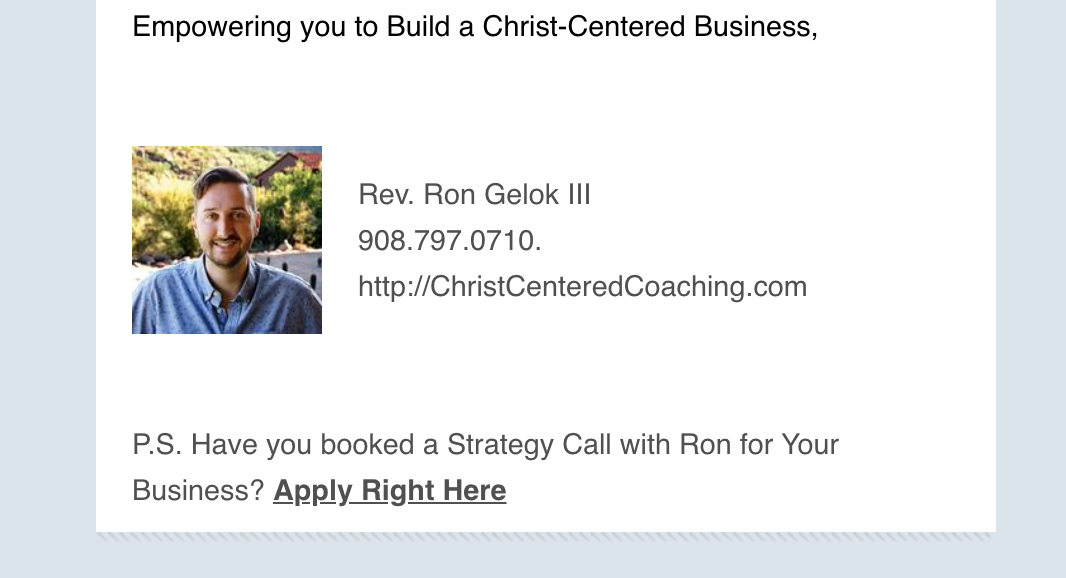 """how to get coaching clients with email"""