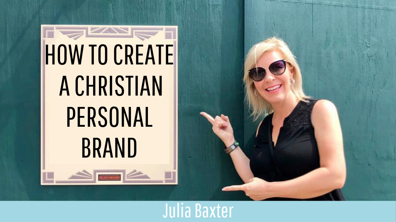 """How to create a christian personal brand"""