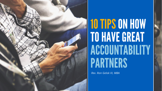 """10 tips on how to have great accountability partners"""