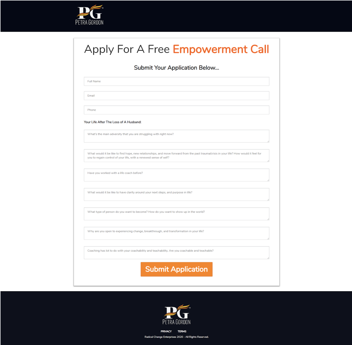 """""""Coaching application to get clients"""""""